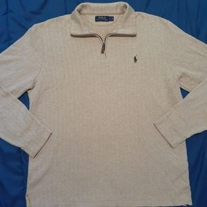 Polo by Ralph Lauren pullover, 1/4 zip and collar